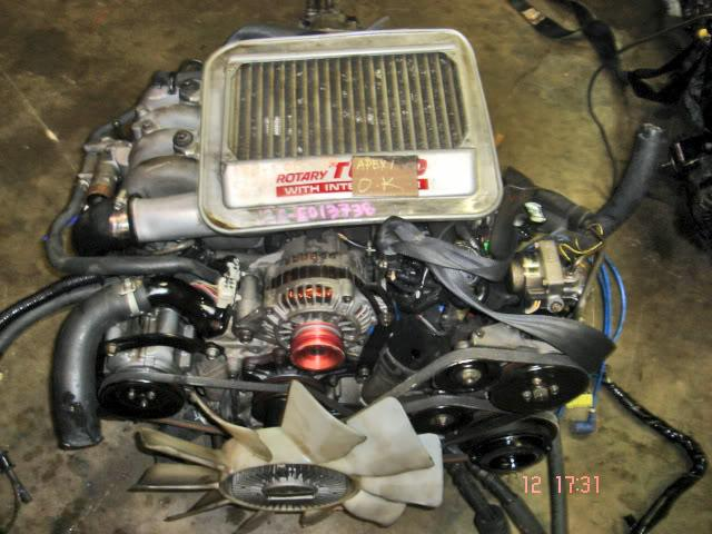 Toyota Avalon Convertible JDM Mazda RX7 13BT Rotary Turbo Engine