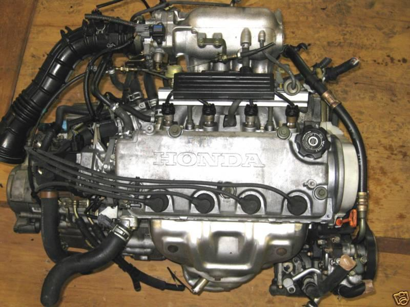 Supercharged engine, d16, free engine image for user manual download