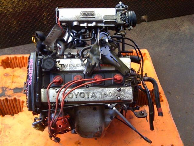 Toyota Corolla 4age 16valve Dohc 1 6l 90 91 Engine